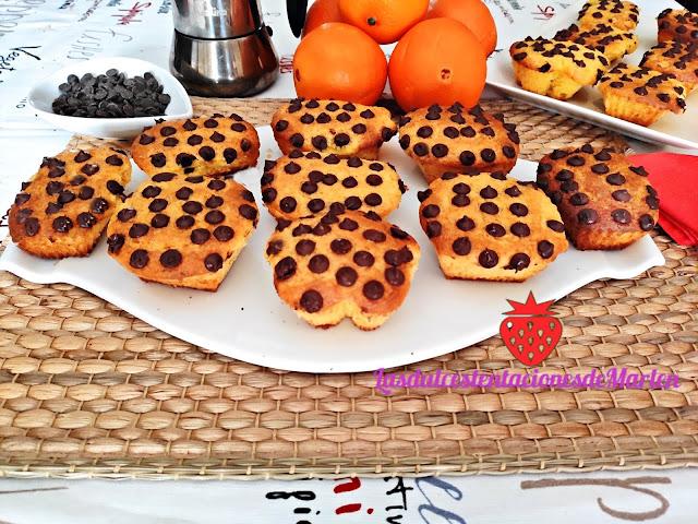 Bizcochitos de Naranja y Chocolate