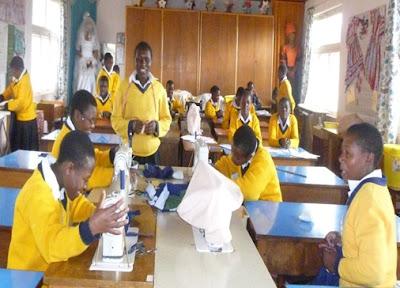 Training Young Women in Tanzania