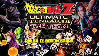 DRAGON BALL Z TENKAICHI TAG TEAM LATINO PPSSPP ISO DBZ TTT