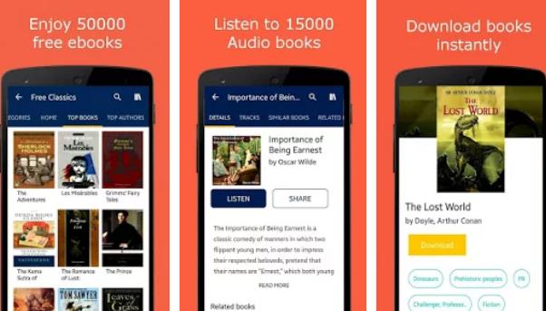 تطبيق Free eBooks & Free AudioBooks_50000