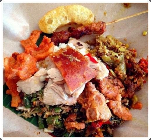 Makanan khas bali babi guling