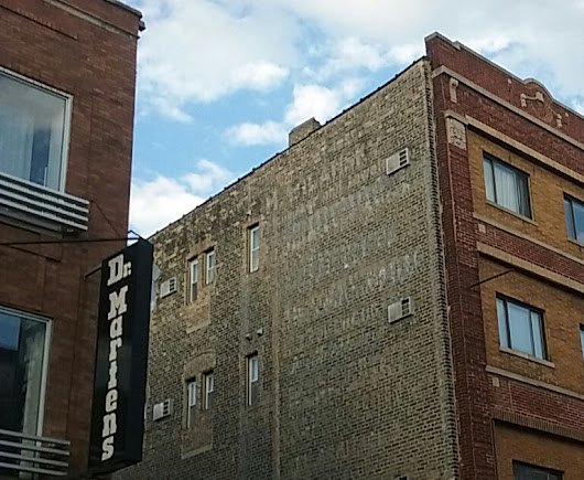 Ghost Buildings & Ghost Signs Down North Avenue/I Didn't Read at BGT This Time Around