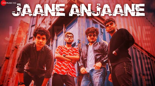 JAANE ANJAANE LYRICS- DANISH JAITLY | RAVATOR X ANJAAN | NEW HINDI SONG 2019