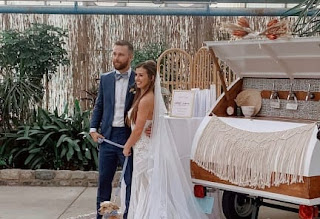 Elliot And His Girlfriend On Their Wedding Day