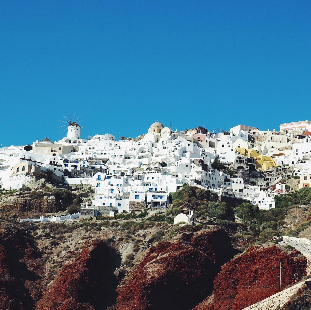 TRAVEL: Santorini Sunset Cruise Photo Diary