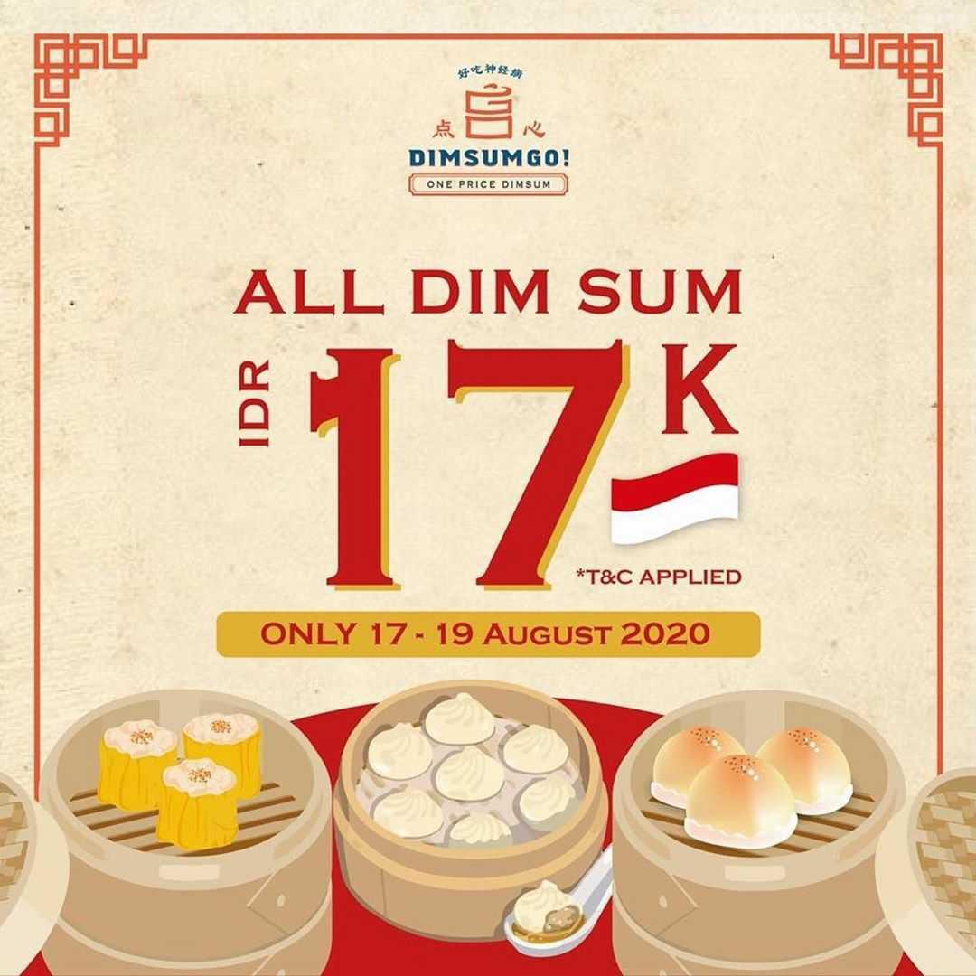 Promo Dimsum Go Merdeka All Dim Sum Cuma Rp 17K*