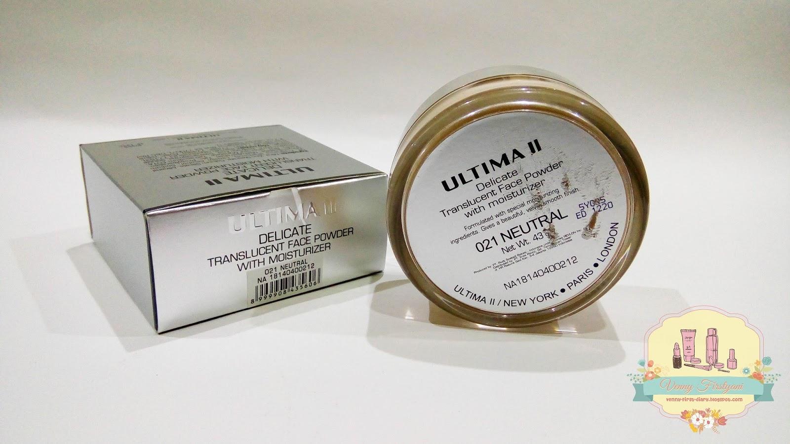 Ultima Ii Dynamic Duo Review Delicate Creme Powder And Translucent Bedak Tabur Ukuran Besar Warnanya Cenderung Agak Kuning Natural Hangat Dan Cocok Banget Untuk Kulit Wajah Shade Medium Karena Yang Netral Dikulit