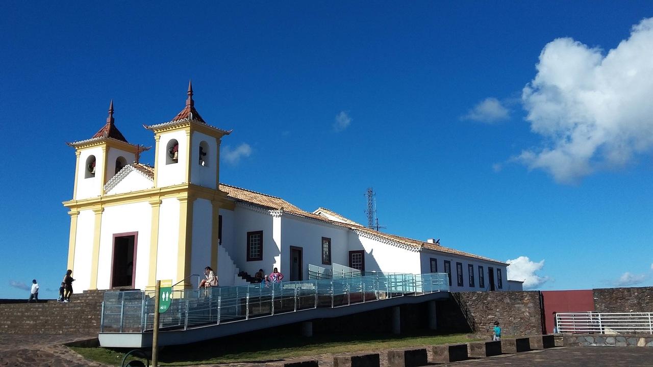 Santuário da Serra da Piedade em Caeté - Patrimônio Histórico Mineiro
