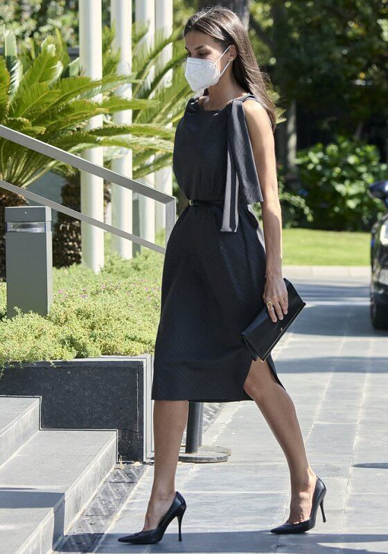 Ulises Mérida is a Spanish fashion designer. Queen Letizia wore a new dress designed by Spanish fashion designer Ulises Mérida