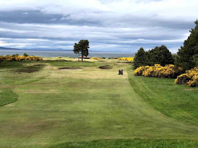 Upea väylä Nairn Dunbar Golf