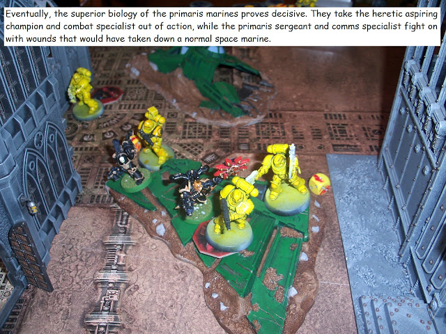warhammer kill team battle report heretic astartes chaos space marines primaris