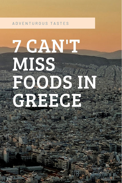 7 Can't Miss Foods in Greece - Peachy sunset over Athens Greece