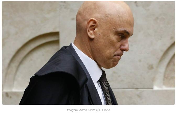 Alexandre de Moraes é alvo de novo pedido de impeachment