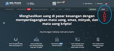 PANDUAN CARA BUKA AKUN DI BROKER WELTRADE INDONESIA