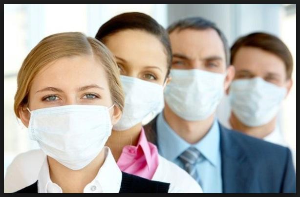 masker kantor