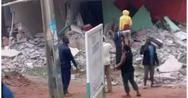 Government Destroys AIT's Buildings In Abuja