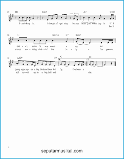 chord that's life 2 lagu jazz standar