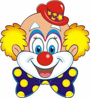 Lembrancinha de Palhaço para o Dia do Circo - moldes