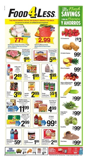 Food 4 Less Ad This Week September 18 - 24, 2019