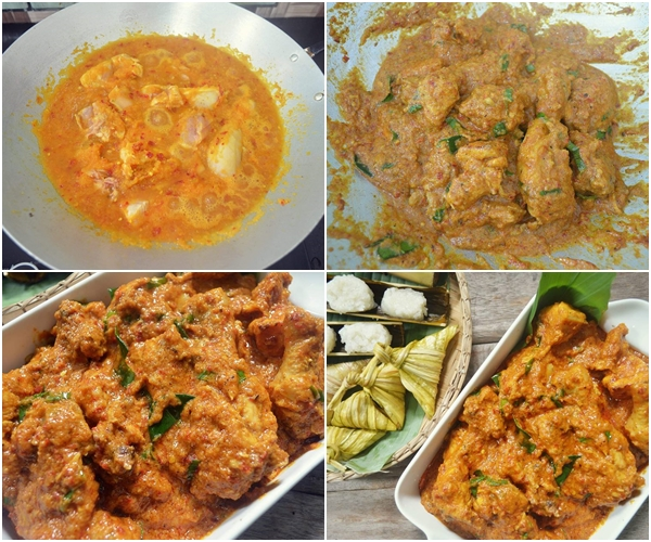 Resepi Rendang Ayam Special di Hari Raya