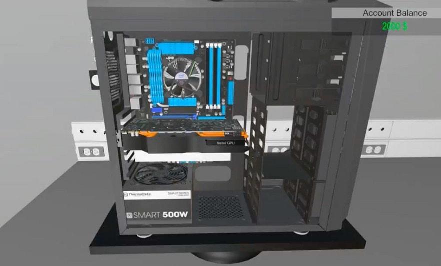 PC Building Simulator: un juego para montar tu propio PC