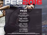 Kompetisi PES 2016 di Jakarta Maret 2016