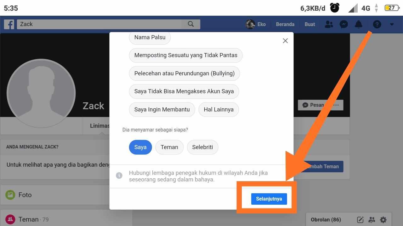 Cara MENGEMBALIKAN akun fb yang dibajak tanpa email