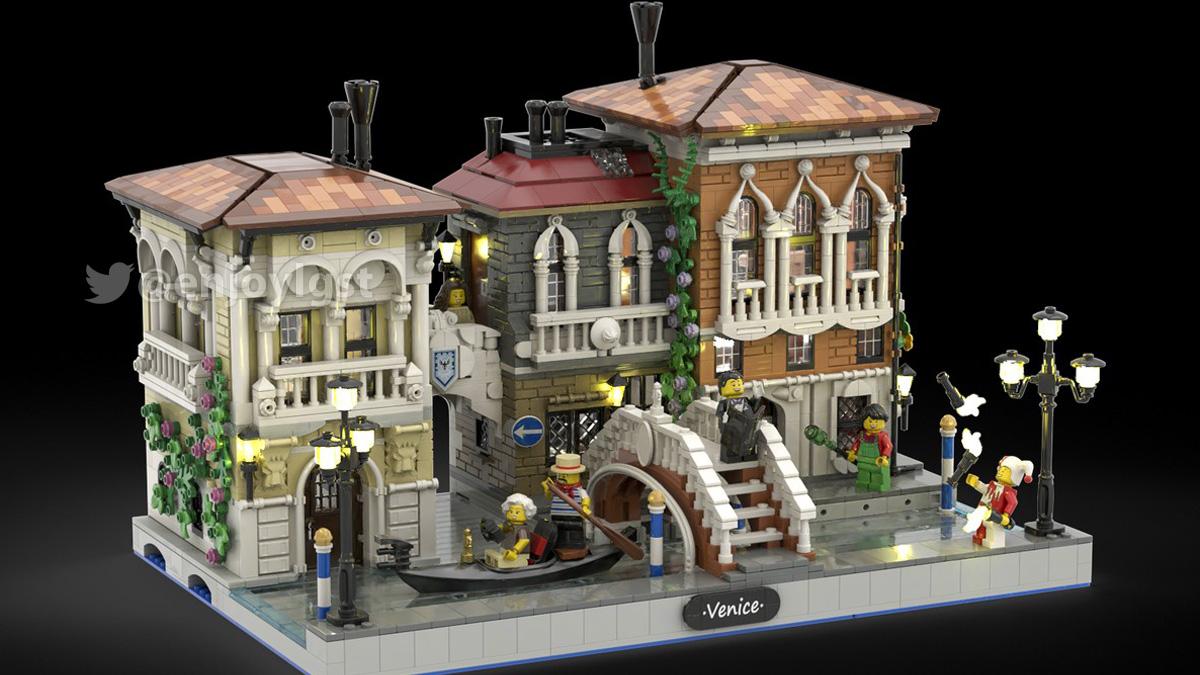 レゴアイデアで『水の都 ヴェネツィア』が製品化レビュー進出!2020年第3回1万サポート獲得デザイン紹介