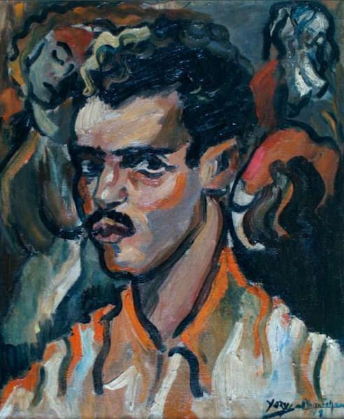Retrato de Luichi Martínez Richiez, Yoryi Morel, 1949