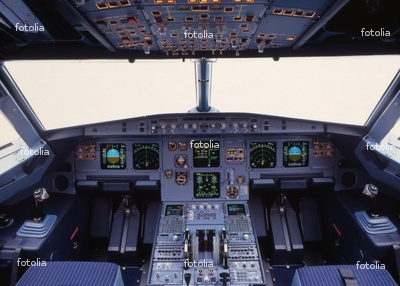 Cool Jet Airlines Airbus A319 Cockpit