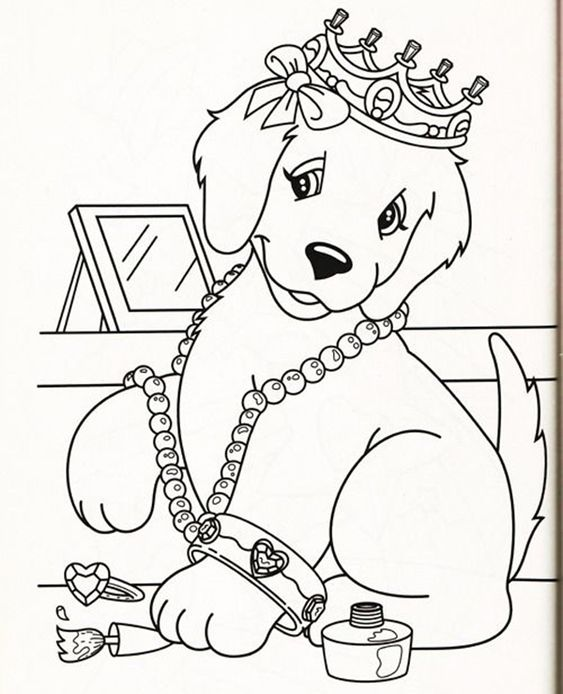 Dogs coloring pages 12