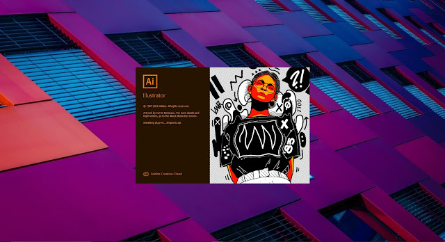 Buka Adobe Illustrator 2019