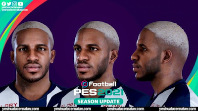 PES 2021 Faces Jefferson Farfán by Yeshua