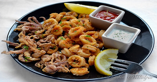 Flour Fried Calamari Recipe