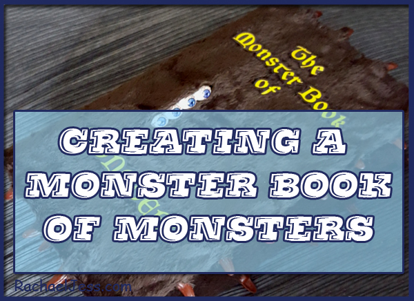Creating a Harry Potter Monster Book of Monsters - Craft
