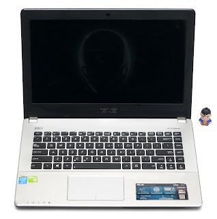 Jual Laptop Gaming ASUS A450L Core i5 Dual VGA Bekas