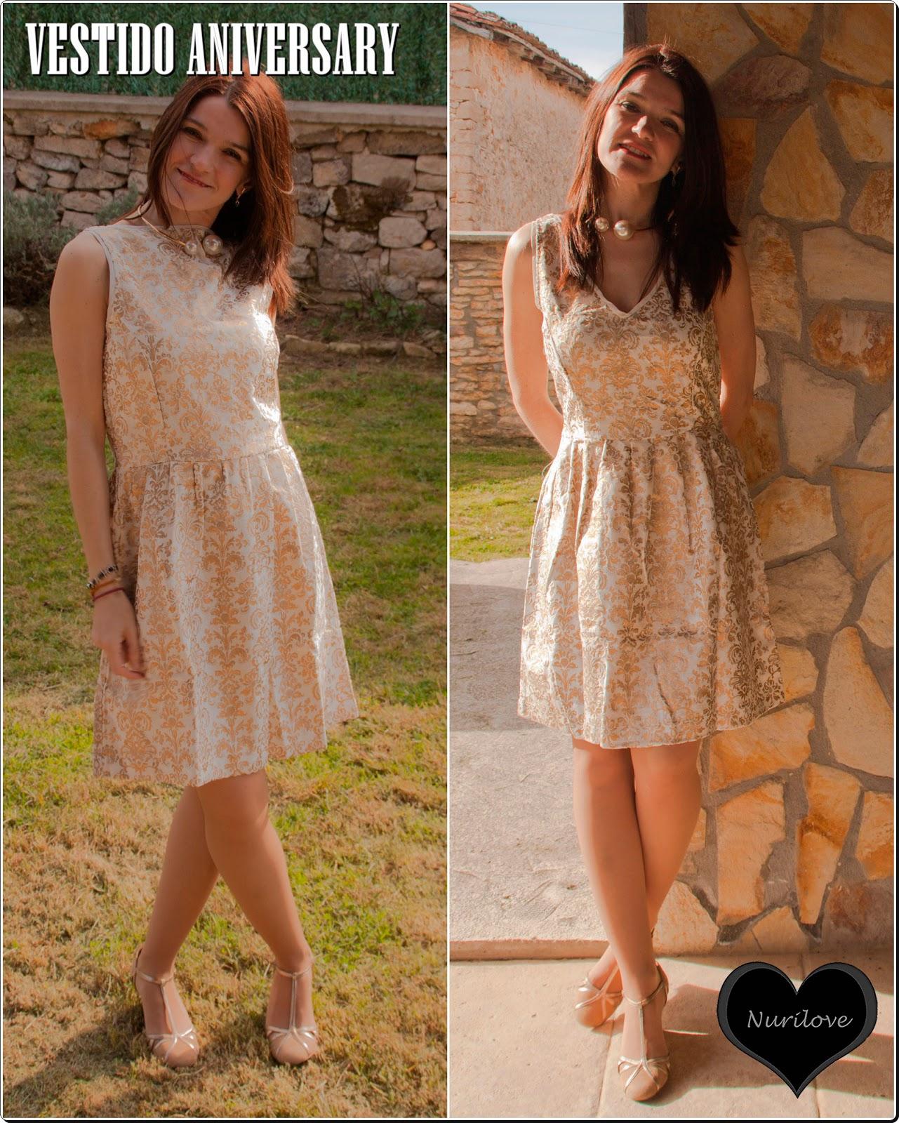 Vestido aniversary, ideal para tu próximo evento