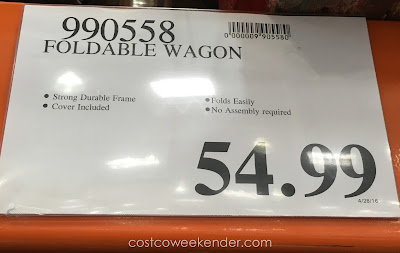 Deal for the Folding Utility Wagon at Costco