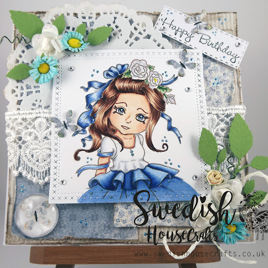 L Fairytale's card - Swedish House Crafts