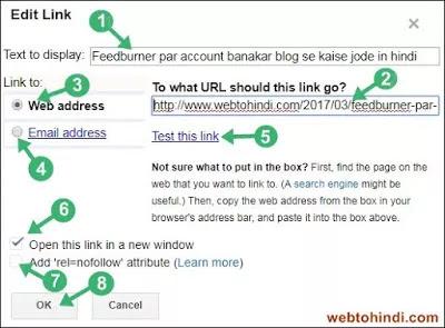 link copy kar pest kare and other settings kare