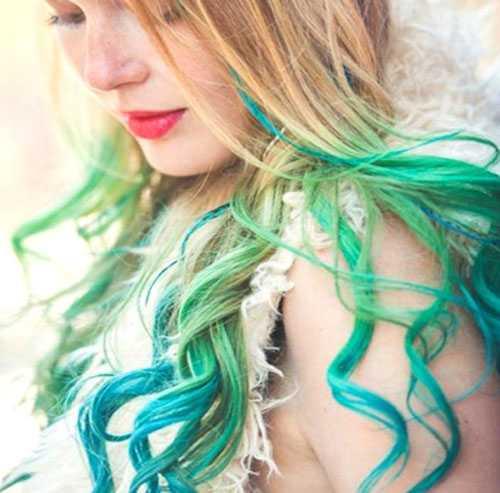 Rengarenk Saç Tebeşiri