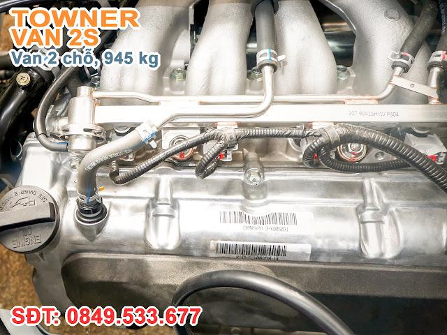 Động cơ K14B-A được sản xuất bởi liên doanh giữa hai tập đoàn Changhe và Suzuki tại Trung Quốc