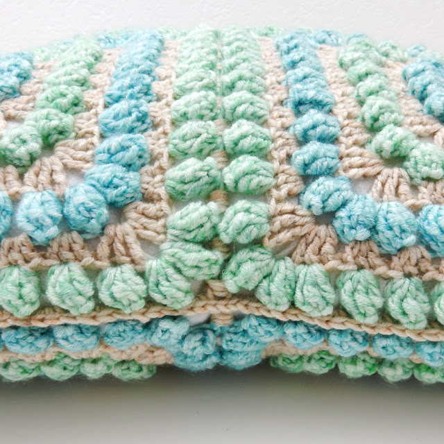 crochet popcorn cushion cover the curio crafts room thecuriocraftsroom free pattern