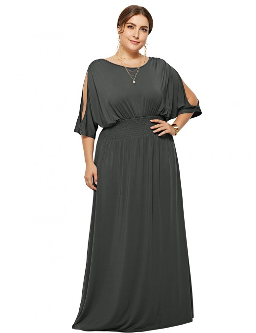 https://www.lover-beauty.com/product/casual-dark-grey-solid-color-ruched-maxi-dress-plus-size-cheap-wholesale_i_22425.html