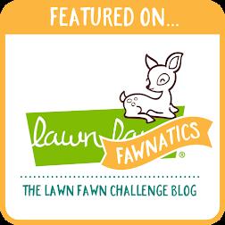 Featured Fawnatics~3D Card Challenge