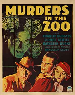 Murders in the Zoo (El asesino diabólico) 1933