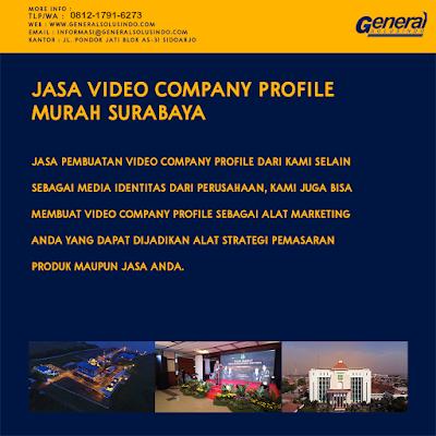 Jasa Video Profile Resmi Surabaya