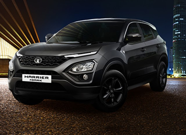 Tata harrier dark edition launch in india.