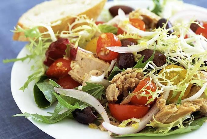 Ensalada mixta- Πράσινη, απολαυστική σαλάτα με τόνο