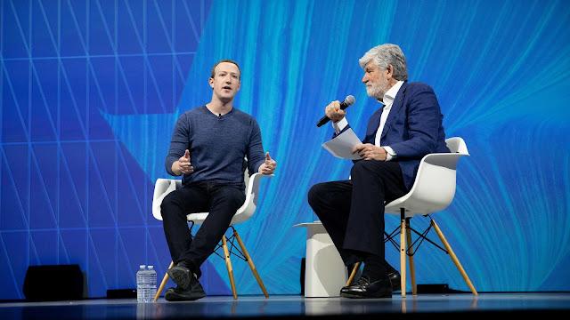 Zuckerberg szef Facebooka i dziennikarz